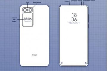 小米MIX 最新双屏设计!网友:雷军这是借鉴魅族?
