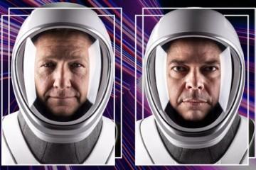 SpaceX月底发射载人火箭揭秘担此重任的两名宇航员