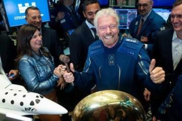理查德·布兰森抛售维珍银河股份套现1.5亿美元